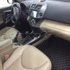 kozha rav4 1 240x240 - Реставрация салона Toyota Rav4