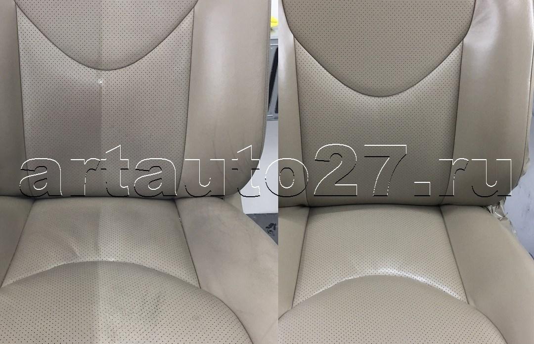 Реставрация салона Toyota Rav4