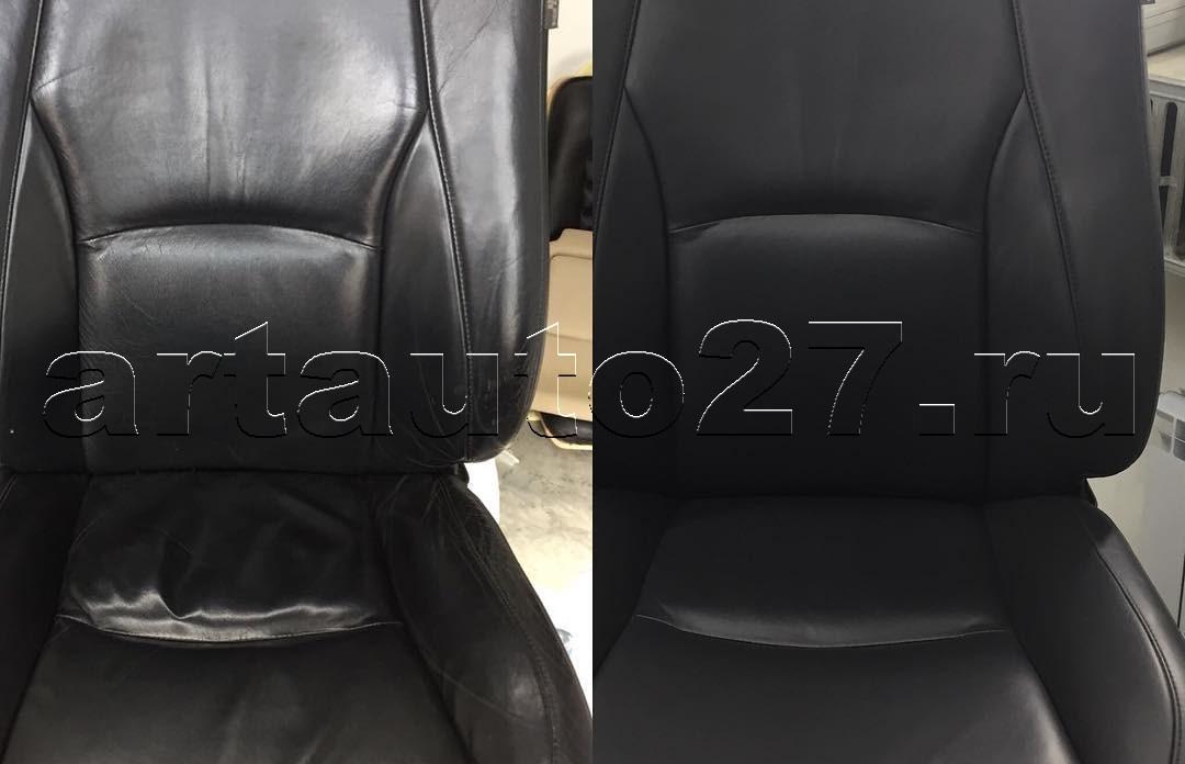 Реставрация водительского кресла Lexus RX 300