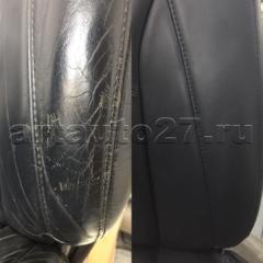 kozha rx300 3 1 240x240 - Реставрация водительского кресла Lexus RX 300