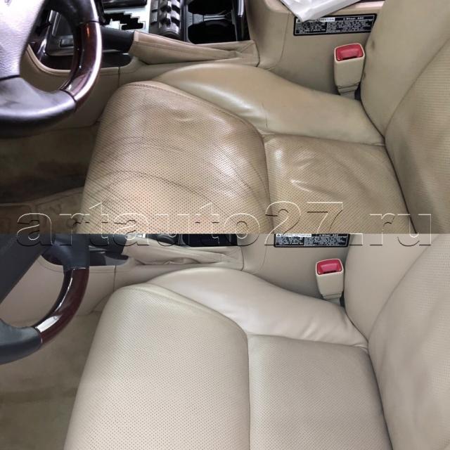 Реставрация и чистка салона Lexus 570