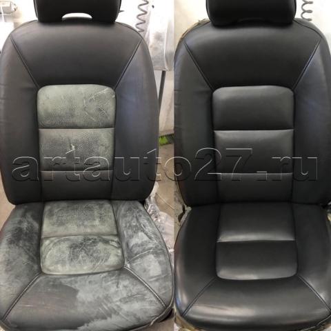 restavracia sideniy volvo1 1 480x480 - Реставрация сидений Volvo s 90