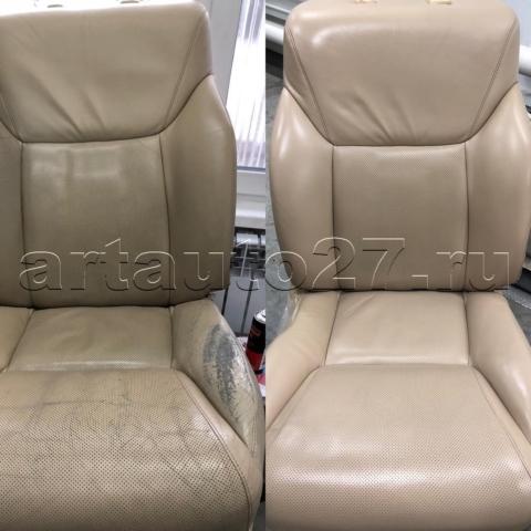 sideniya lexus570 4 480x480 - Реставрация водительского сидения, подлокотника и дверных карт Lexus 570