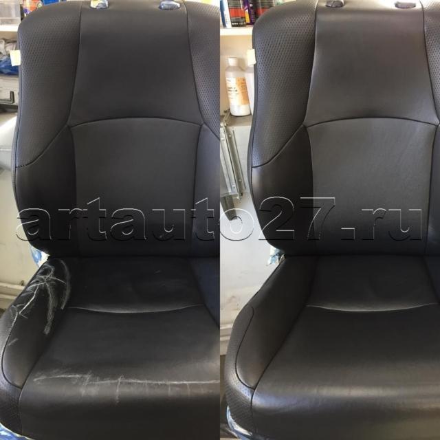 Реставрация сидений и ручки АКПП