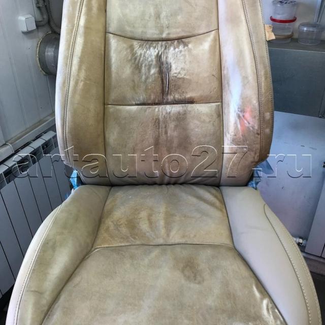 Реставрация передних сидений Lexus GX