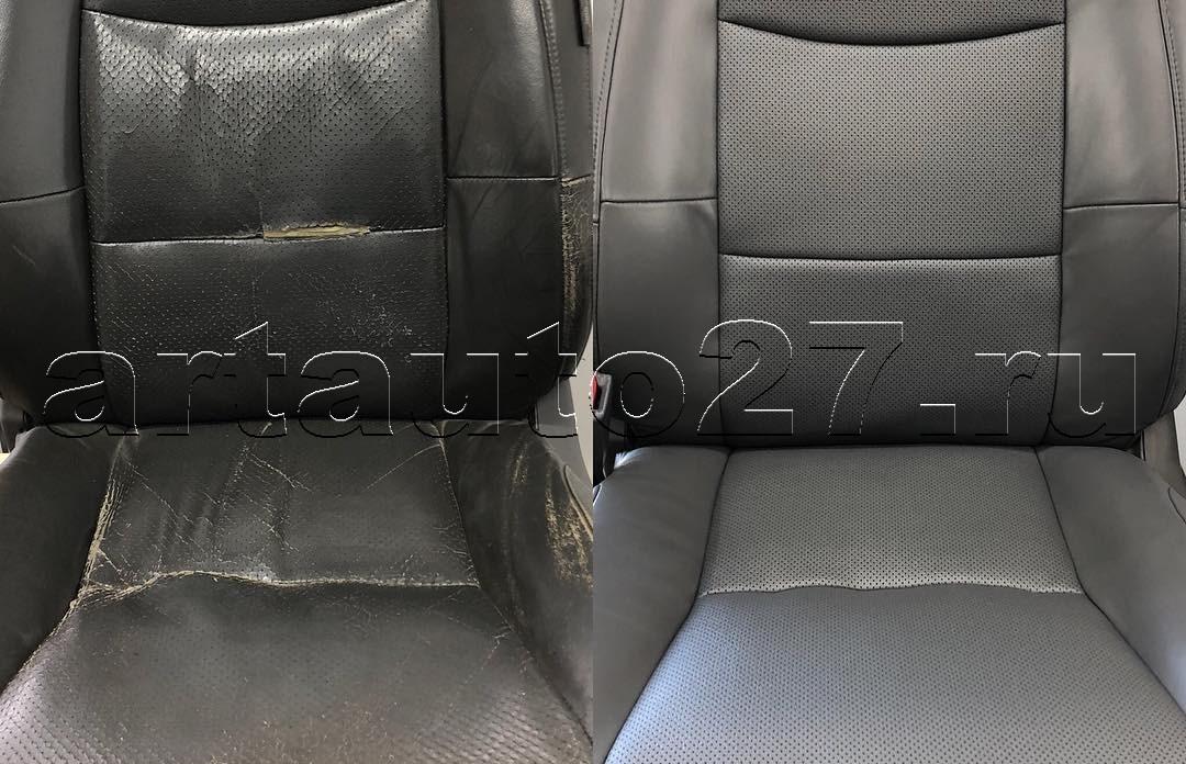 Реставрация сидений Toyota Prado